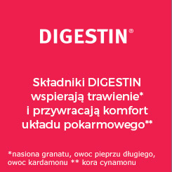 DIGESTIN - poprawia trawienie i przywraca komfort układu pokarmowego