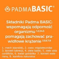 PADMA BASIC - wspomaga odporność organizmu i pomaga zachować prawidłowe krążenie