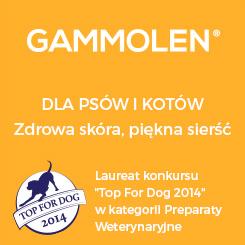GAMMOLEN - dla psów i kotów, zdrowa skóra i piękna sierść